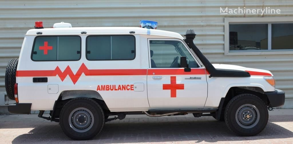 new TOYOTA LC70 Series 4.5 litre Hard top Land Cruiser LHD ambulance