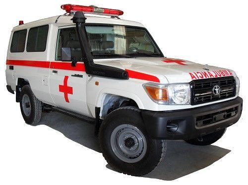 new TOYOTA Land Cruiser HZJ78 Hardtop RHD ambulance