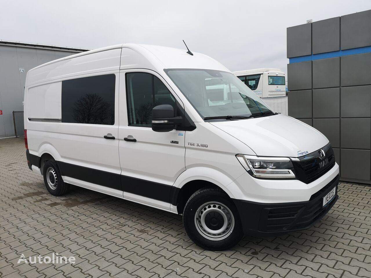 new MAN TGE 3.180 combi van