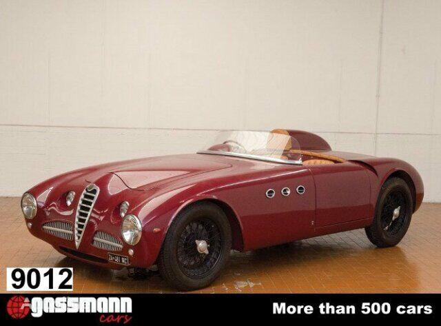 Alfa Romeo 6C 2500 SS - 2500 SS, 6 Zylinder - 1946 convertible