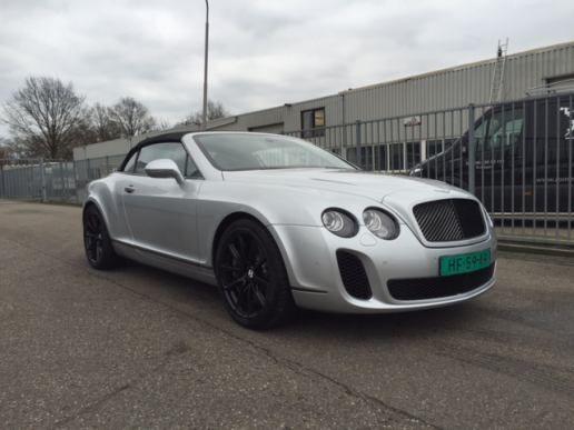 Bentley CONTINENTAL - GTC SUPERSPORTS CABRIO convertible