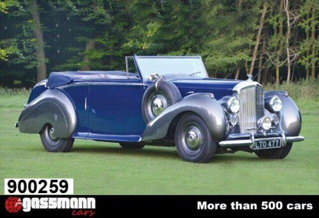 Bentley MK VI Park Ward Coupe MK VI Park Ward Coupe - 1949 coupe