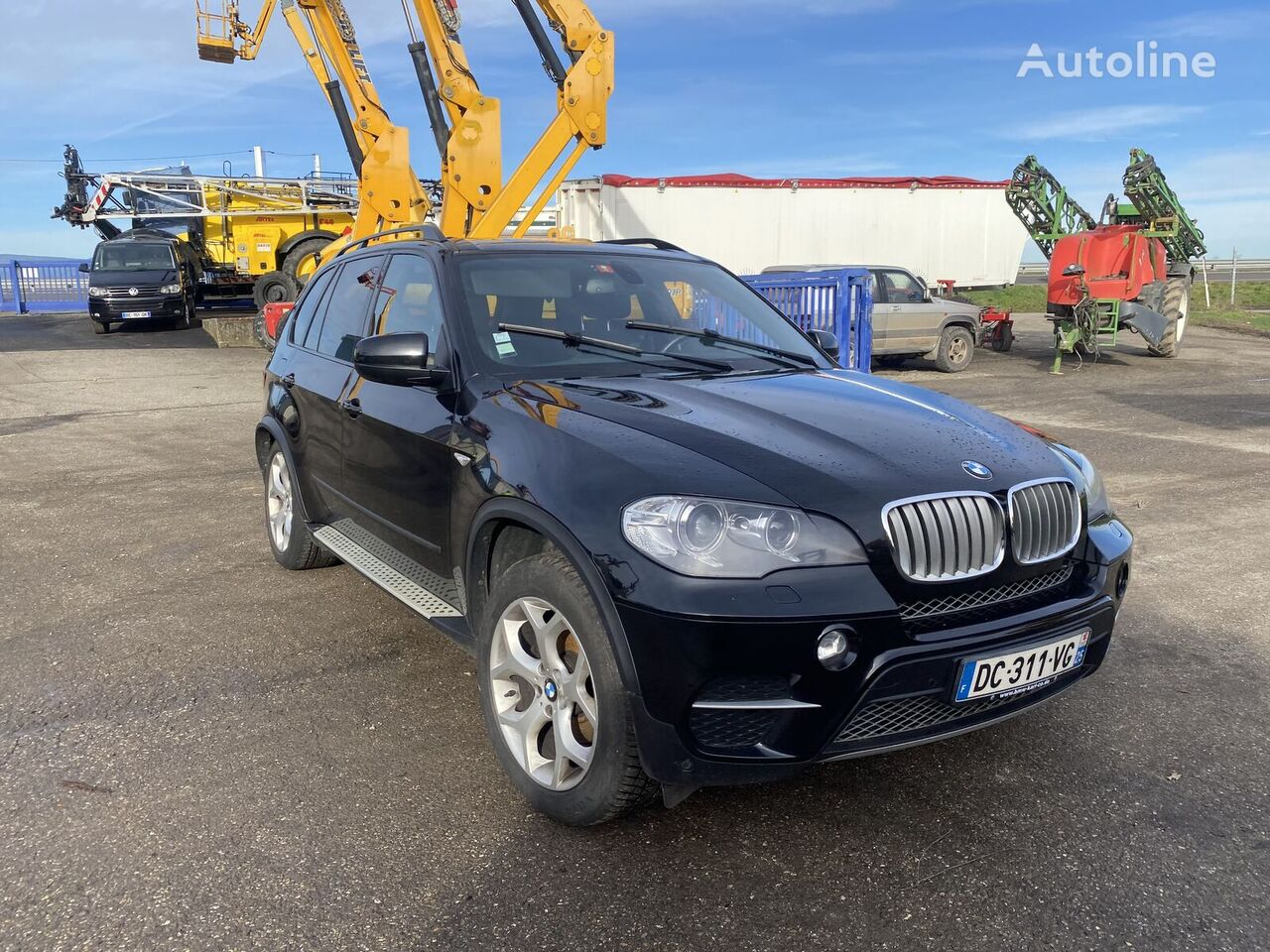 damaged BMW X5 X-Drive 3.0D *ACCIDENTE*DAMAGED*UNFALL* crossover