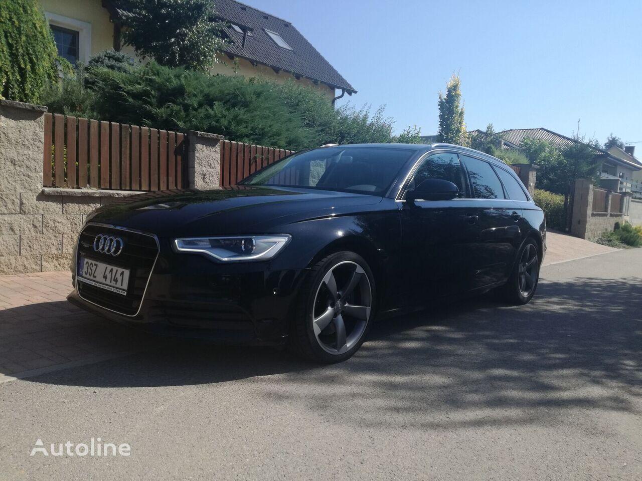 Audi A6 Avant 3.0 TDi Quattro panorama estate car