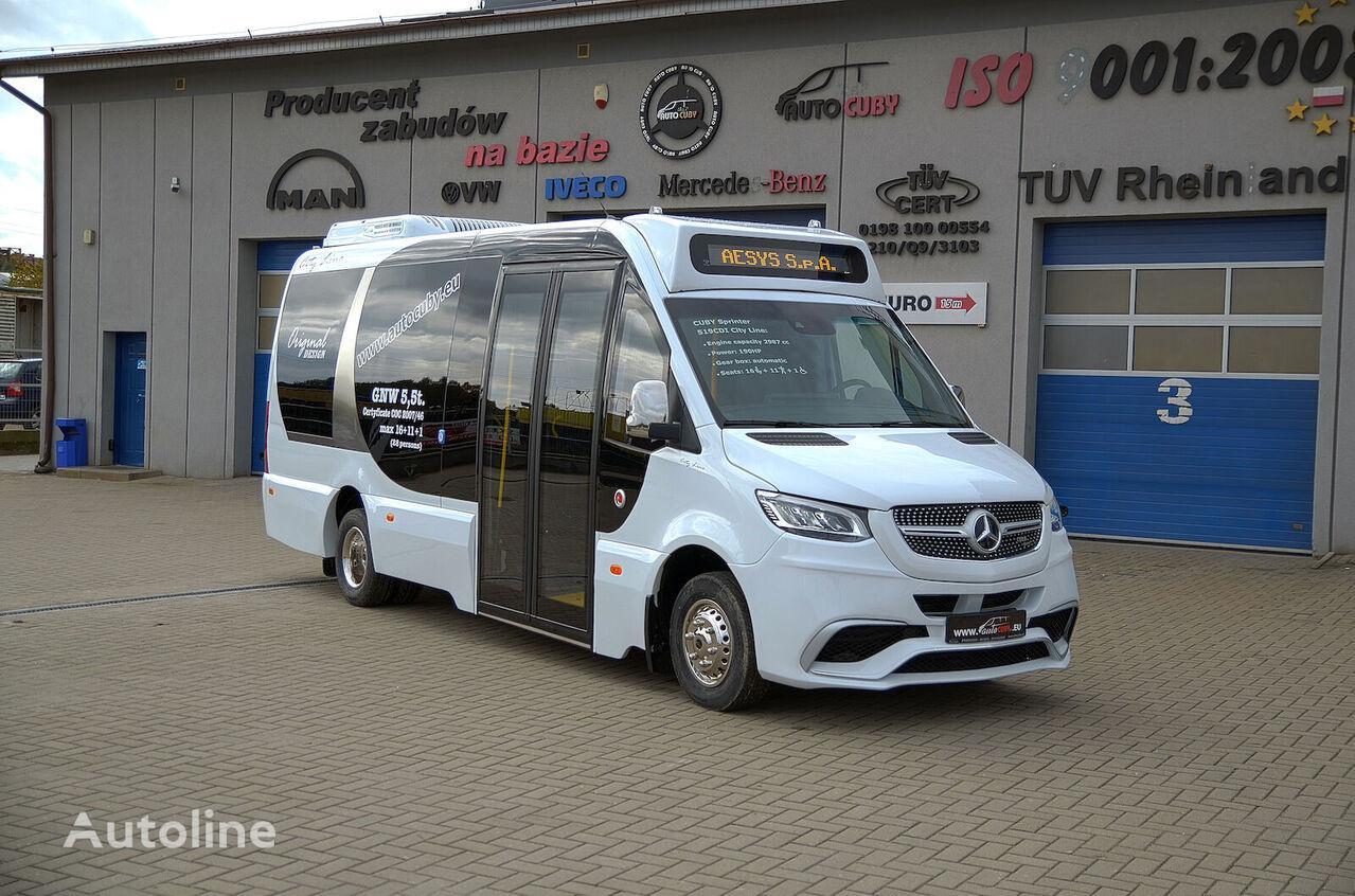 new MERCEDES-BENZ 907 passenger van