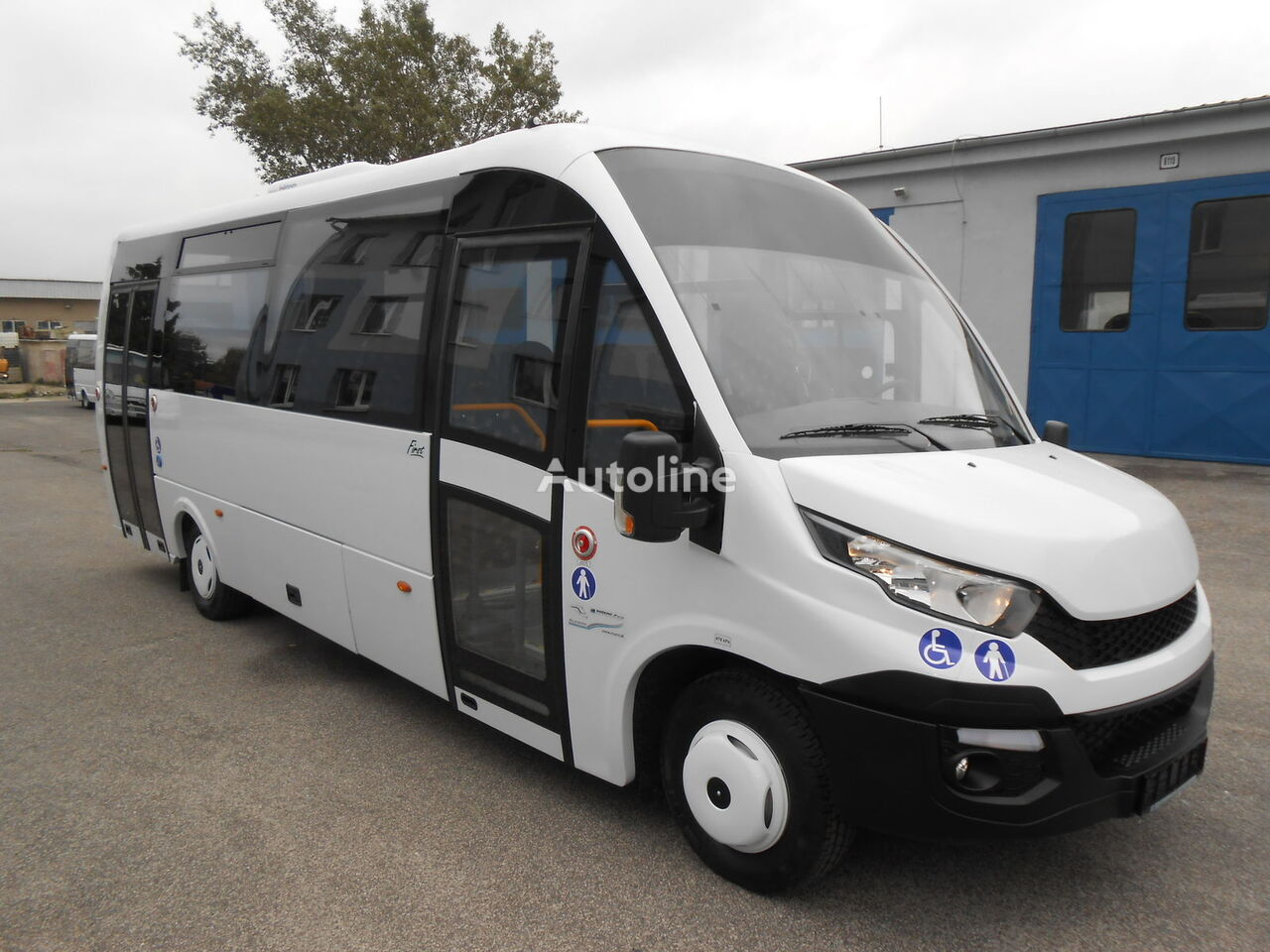 new IVECO  ROSERO FIRST FCLLI passenger van