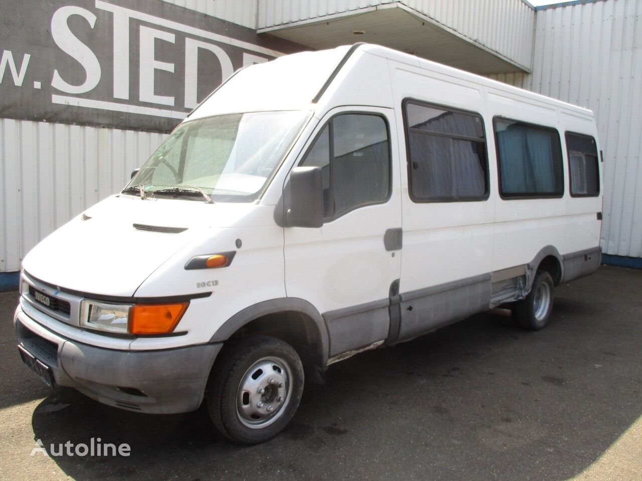 IVECO daily 50 C 13 , 20 persons , NOT RUNNING passenger van