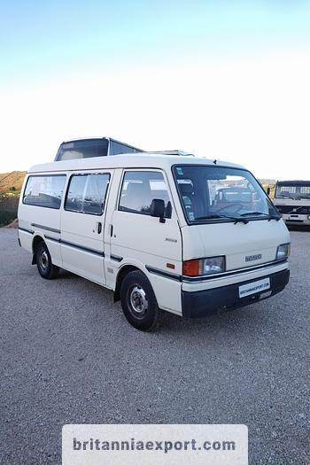 MAZDA E2200 left hand drive 2.2 D 9 seats long wheel base passenger van