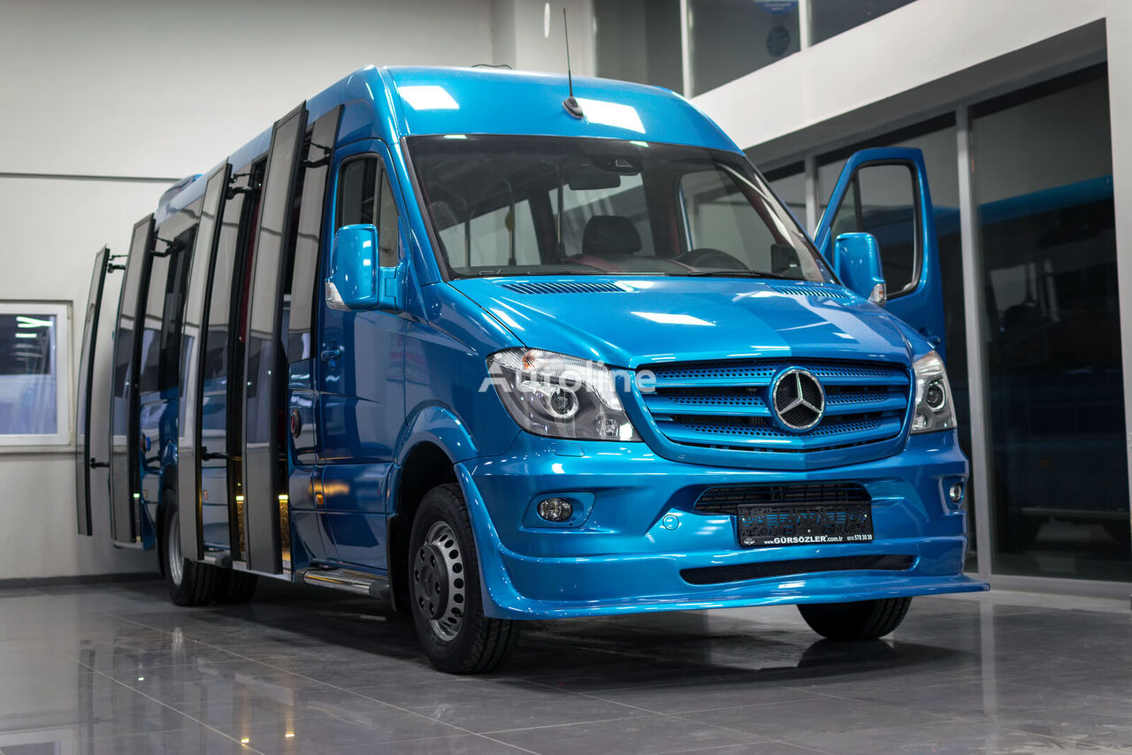 new MERCEDES-BENZ 519CDI AUTOMATİC XXL+2DOORS passenger van