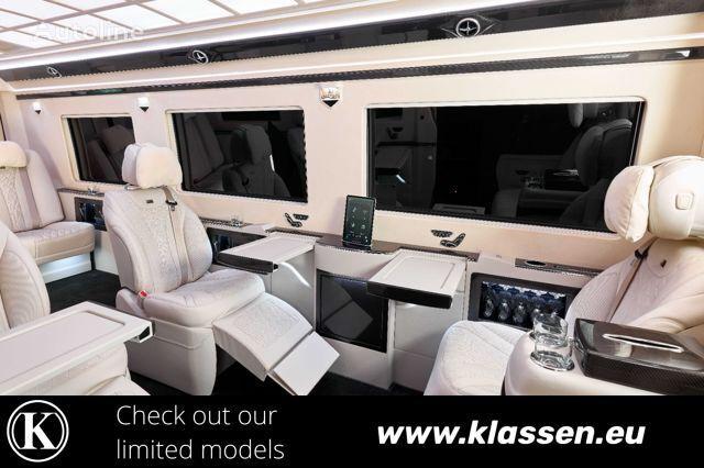 new MERCEDES-BENZ Sprinter 519 319 CDI Luxury Mobility First Class passenger van