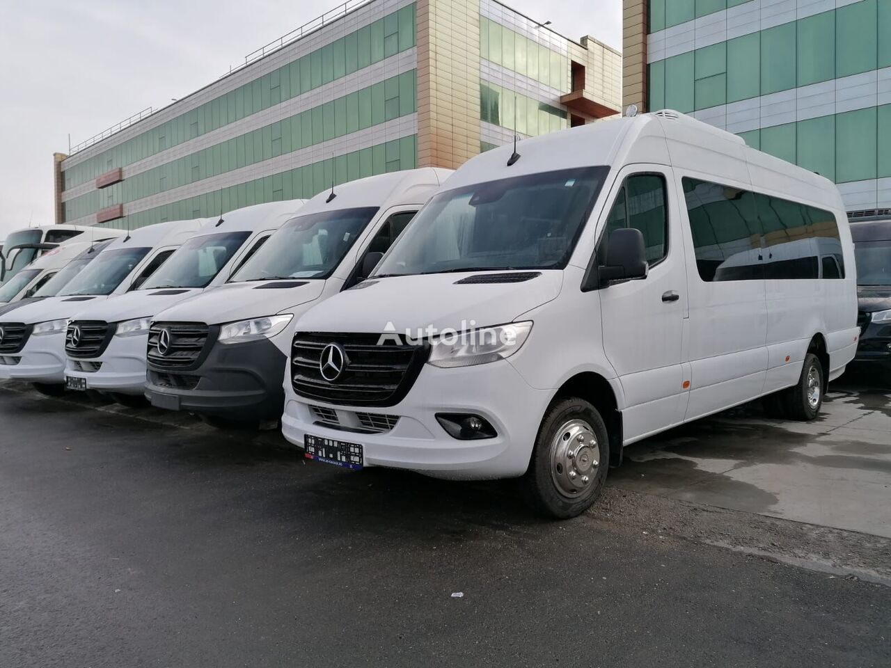new MERCEDES-BENZ Sprinter 519 BAVARIA JERUSALIM TRANSFER COC New Vehicle passenger van