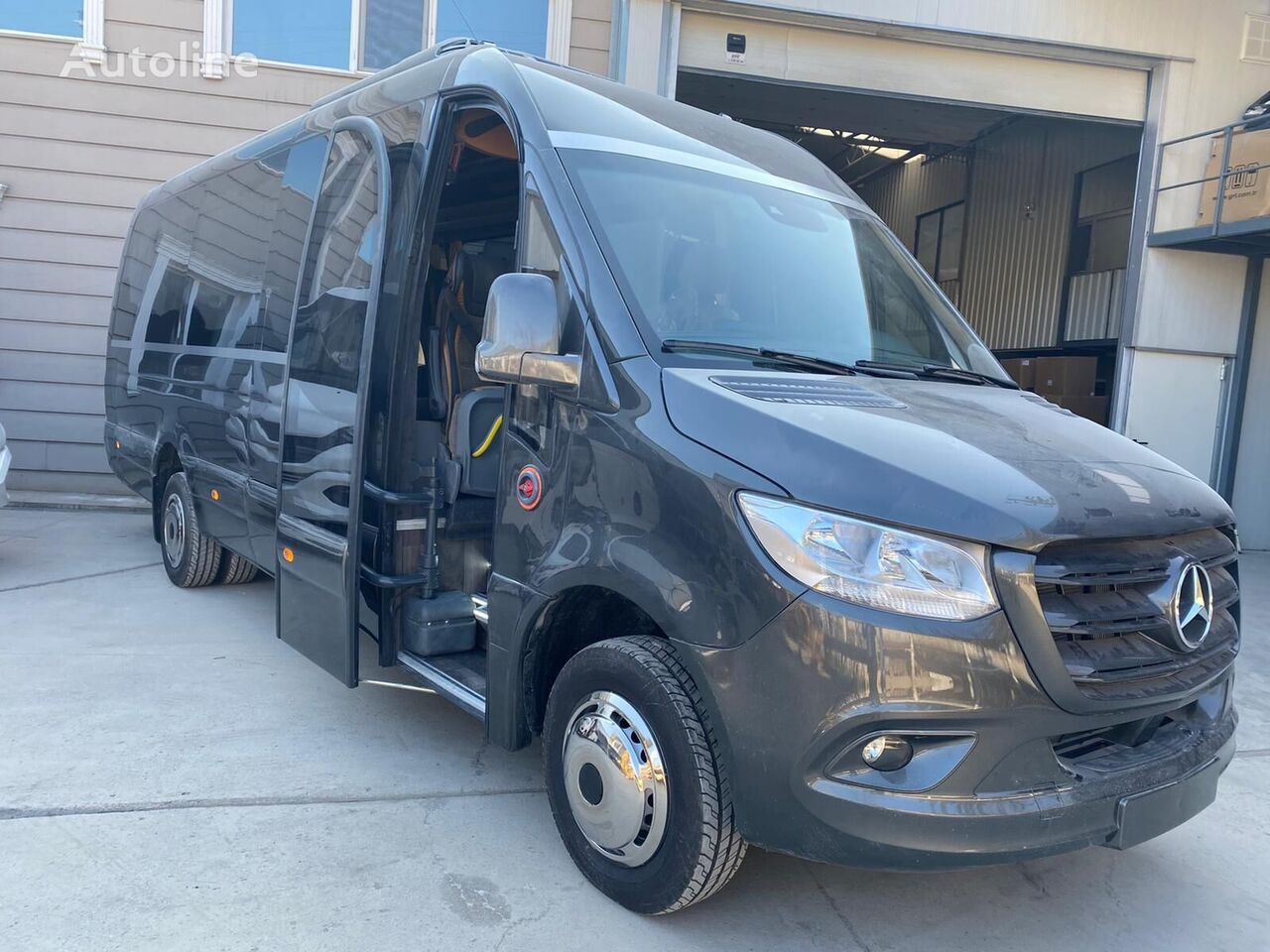 new MERCEDES-BENZ Sprinter 519 Bavaria Panorama Shutlle, New vehicle, COC passenger van