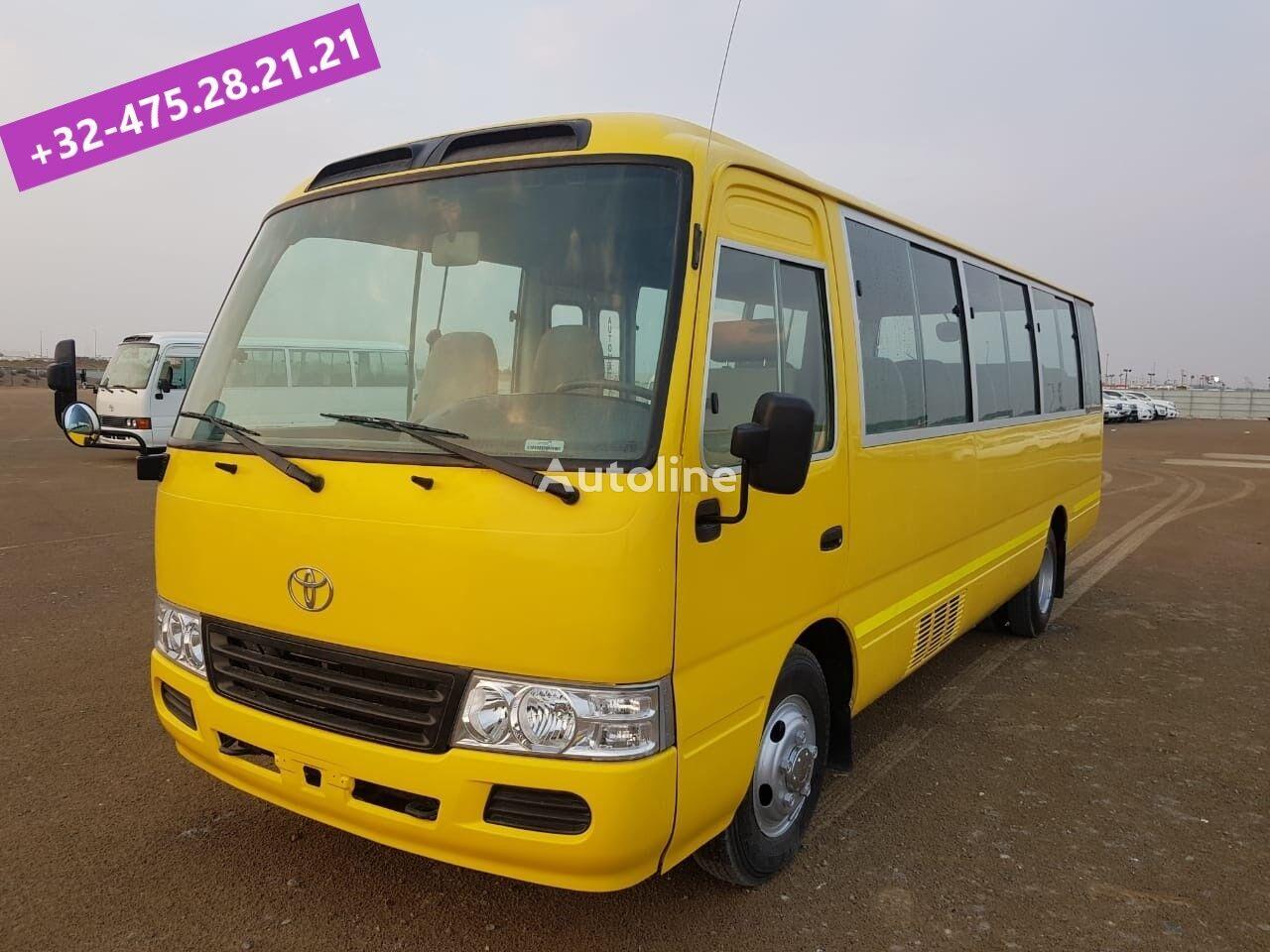 TOYOTA Coaster ... Japan made - Bus pas chinois ......BELGIUM... passenger van