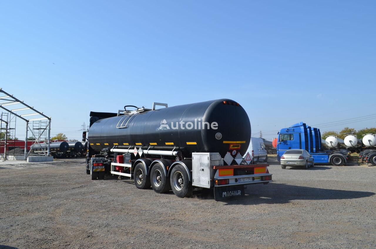 MAGYAR SR40BT - INOX bitumen tank trailer
