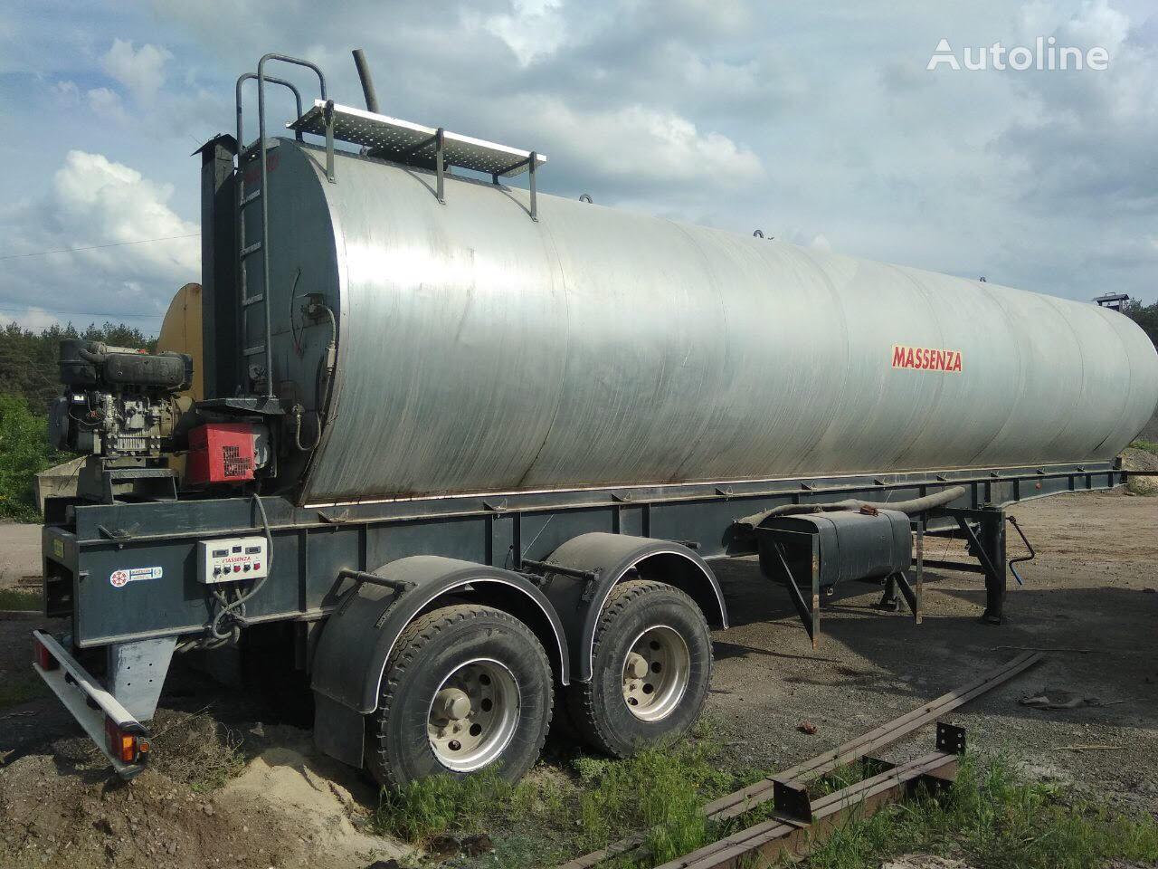 MASSENZA ASR-2 bitumen tank trailer
