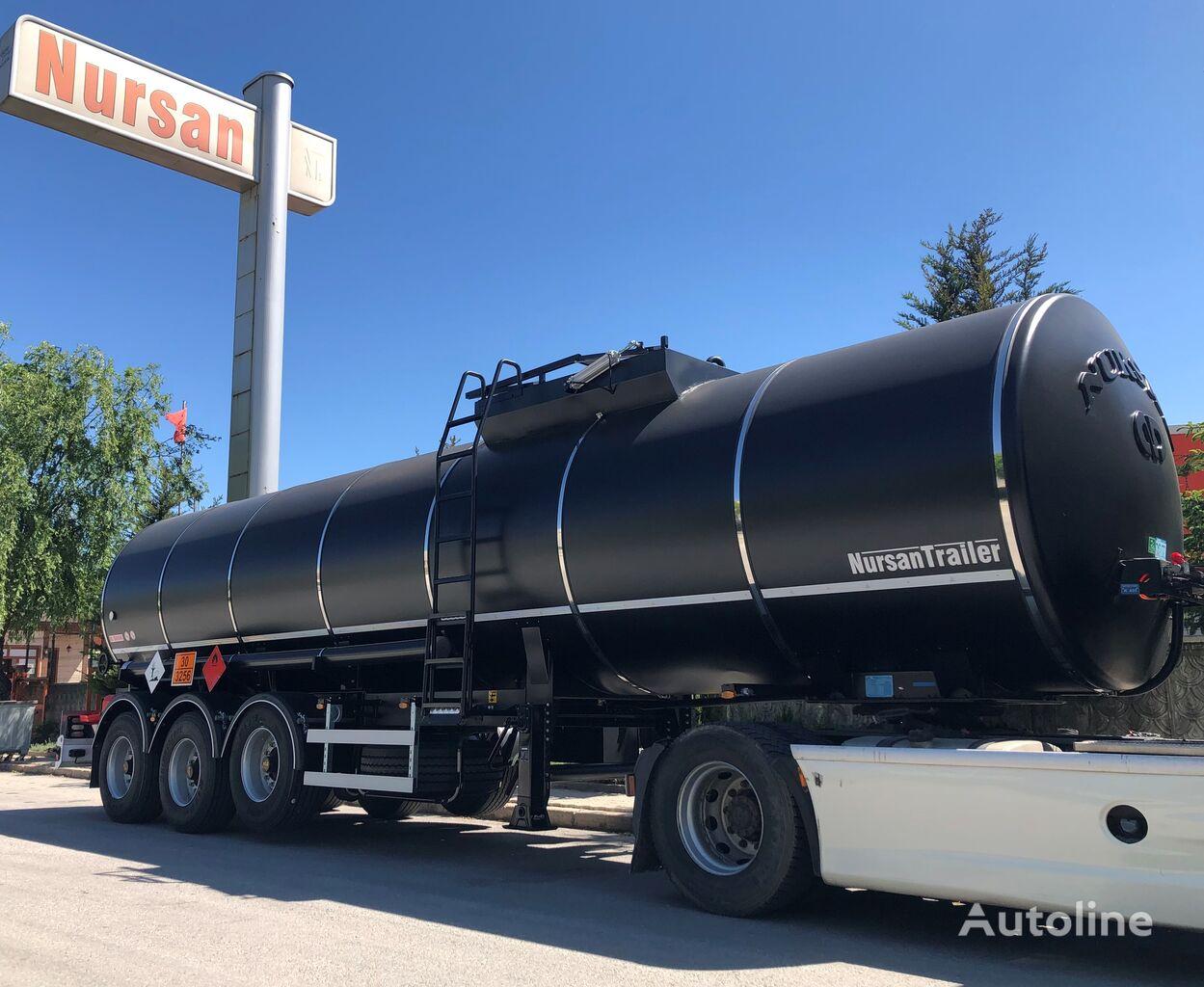 new NURSAN bitumen tank trailer