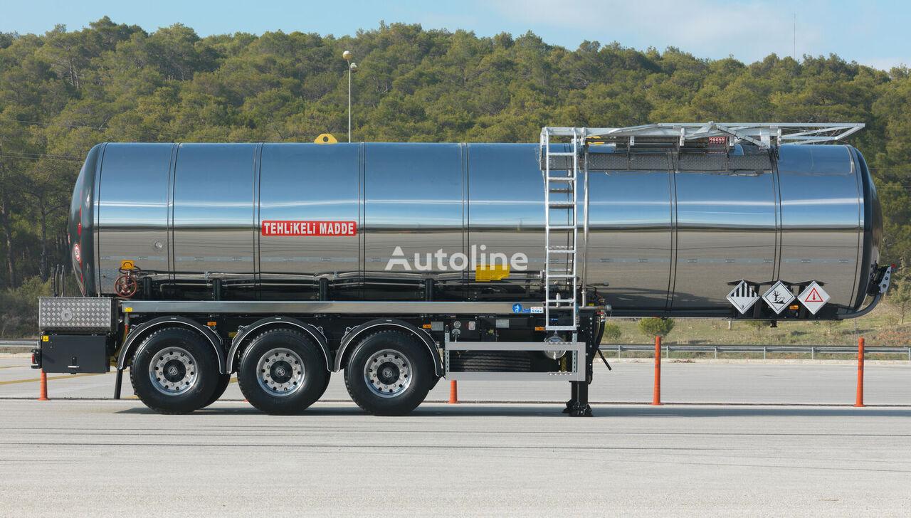 new OKT TRAILER 30 m3 BITUMEN TANKER SEMI TRAILER bitumen tank trailer