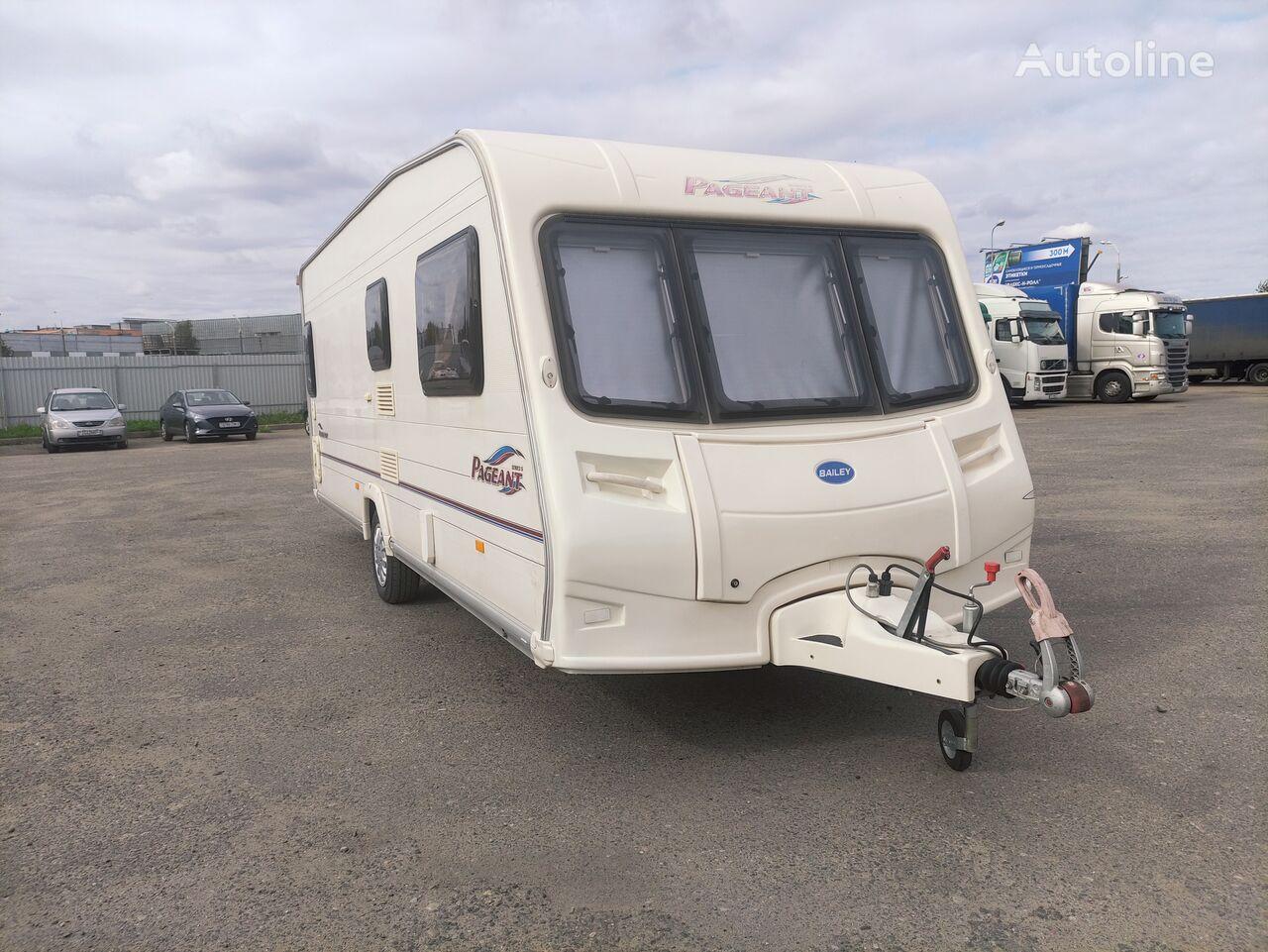 BAILEY PAGEANT BURGUNDY caravan trailer