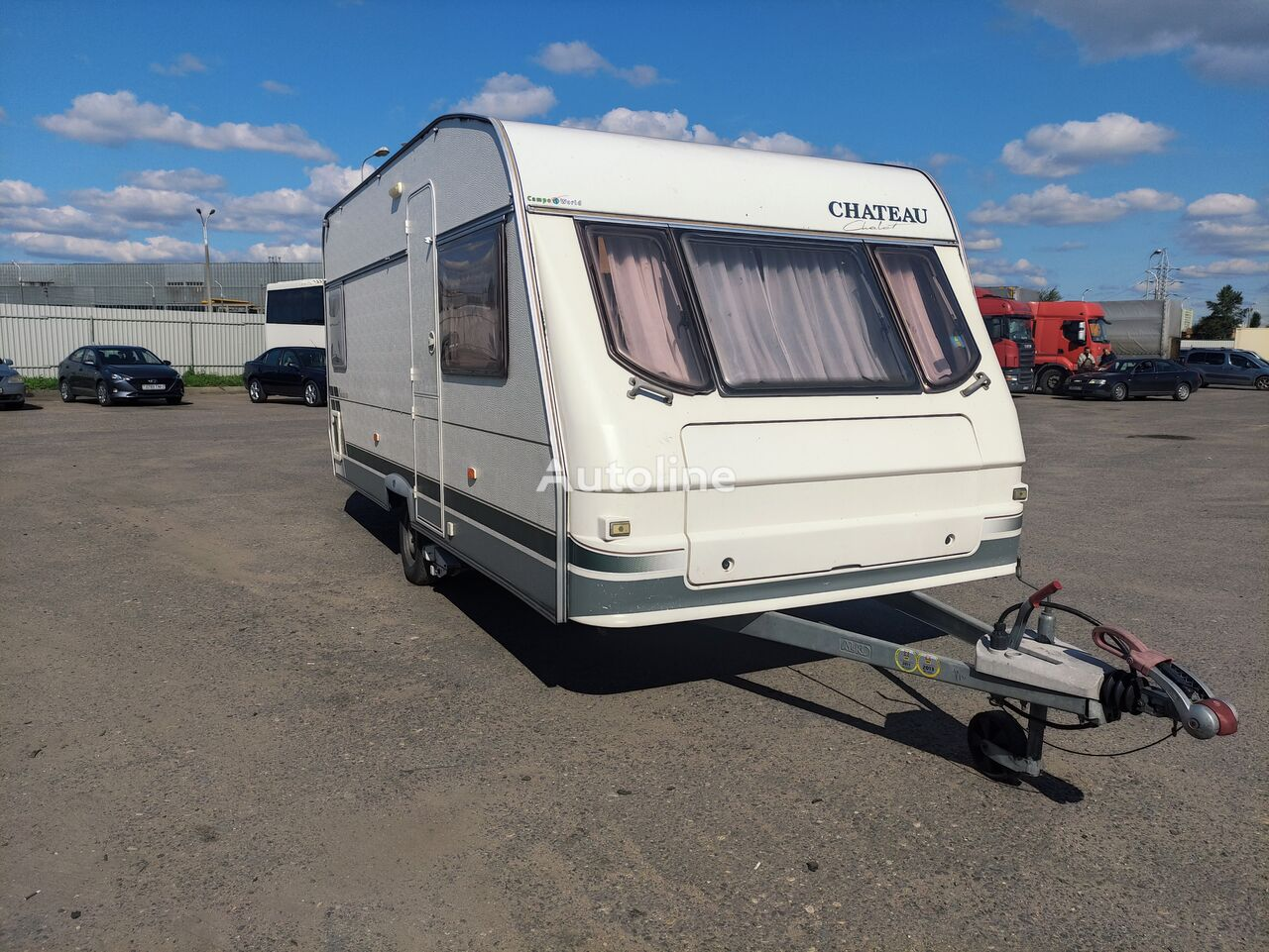CHATEAU CHATEAU 466c caravan trailer