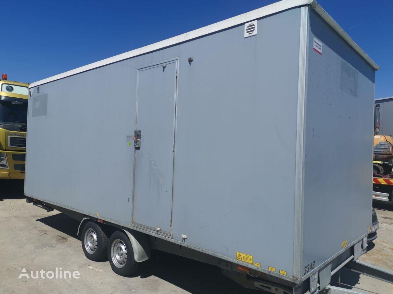 Scanvogn office trailer with showe, WC caravan trailer