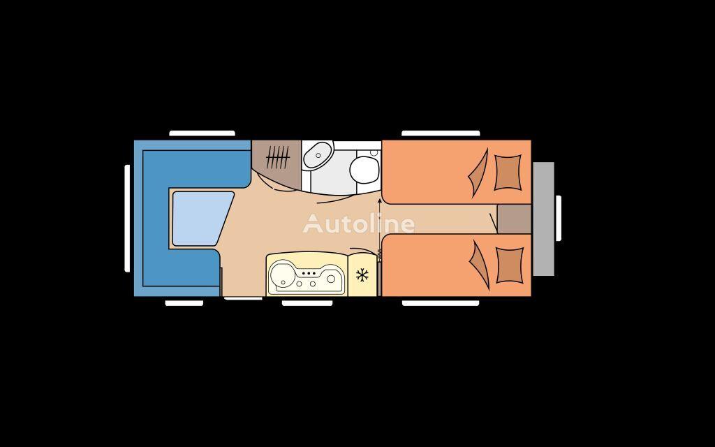 new HOBBY 495 UL DE LUXE caravan trailer