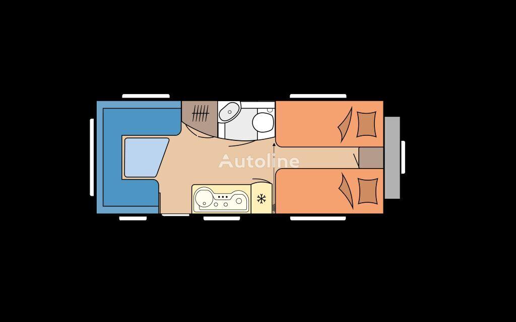 new HOBBY 495 UL EXCELLENT caravan trailer