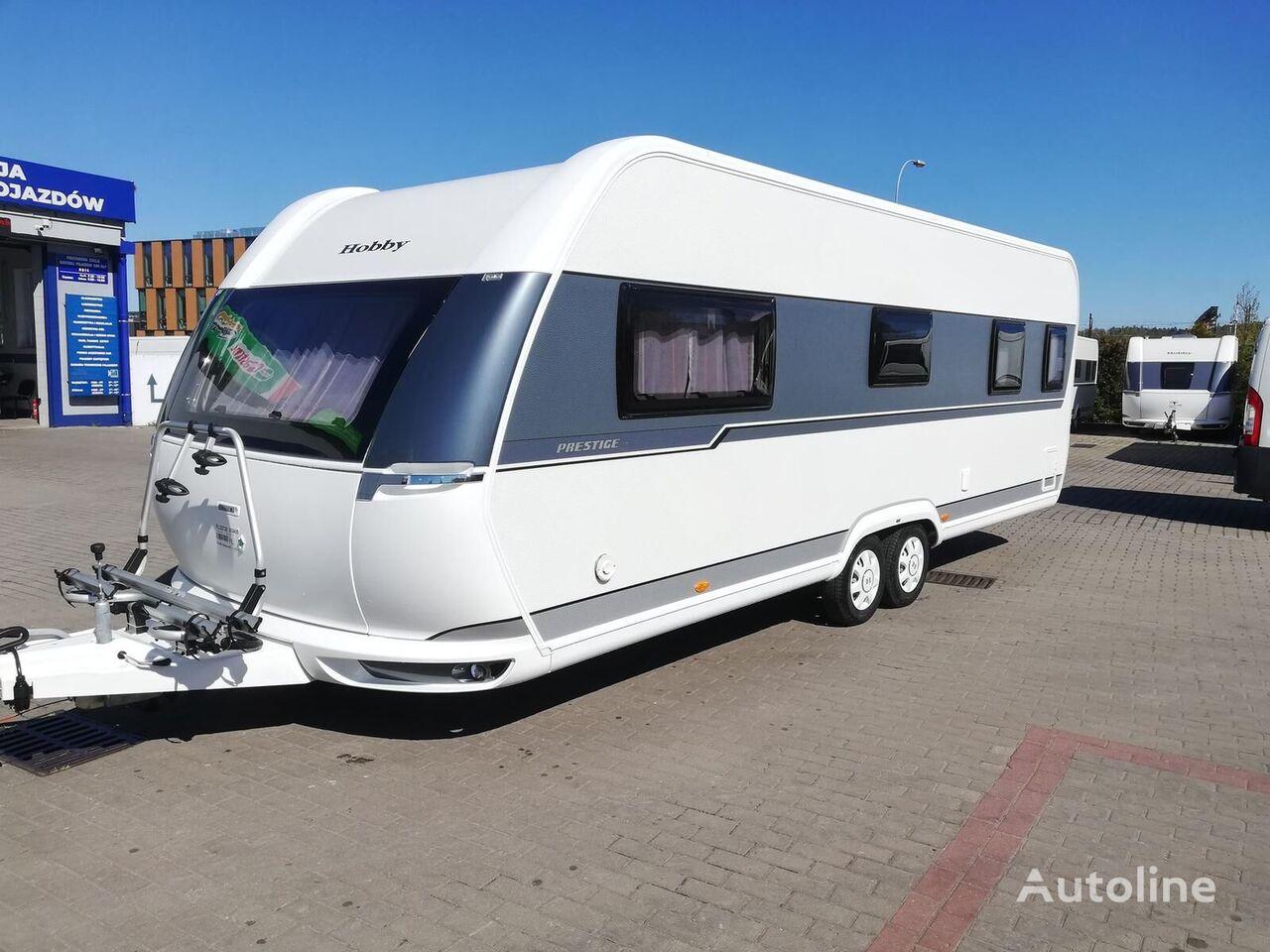 new HOBBY 660 WFC Prestige, AC, heating Truma!!! caravan trailer