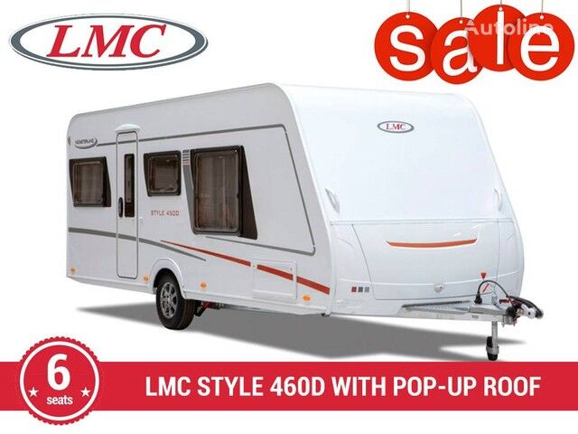 new LMC Munsterlan STYLE 460D (6/2020, 1250 kg) caravan trailer