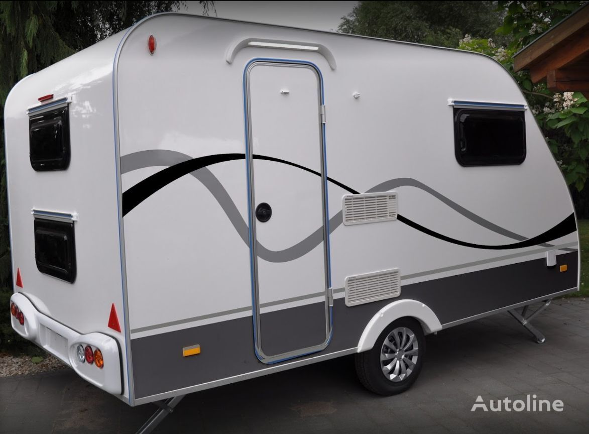 new NIEWIADOW N-cross camping trailer 4-persons caravan trailer