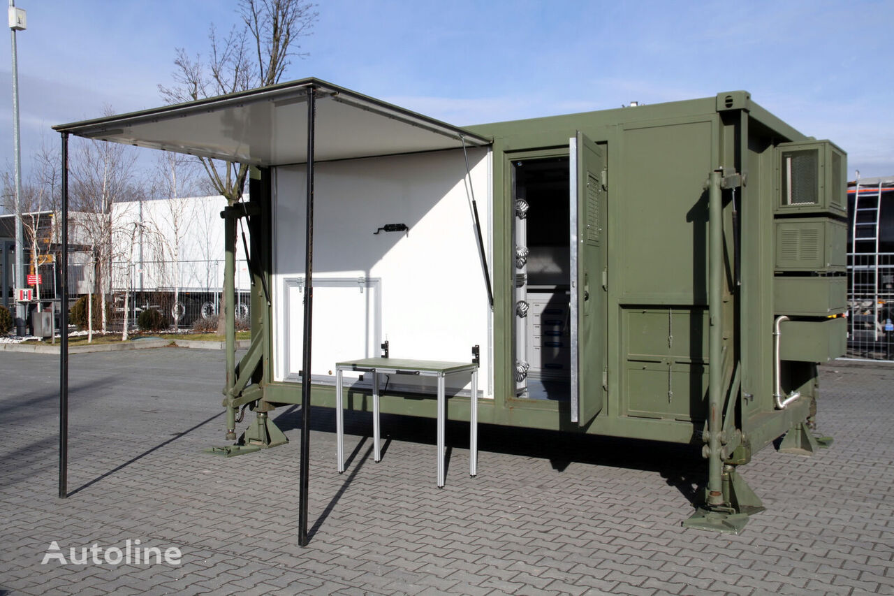 UNUSED Container house with Air filter / no-virus clear air  caravan trailer