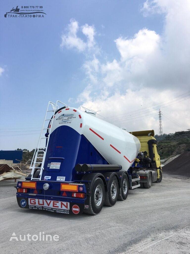 new GuteWolf pod vesovoy kontrol cement tank trailer