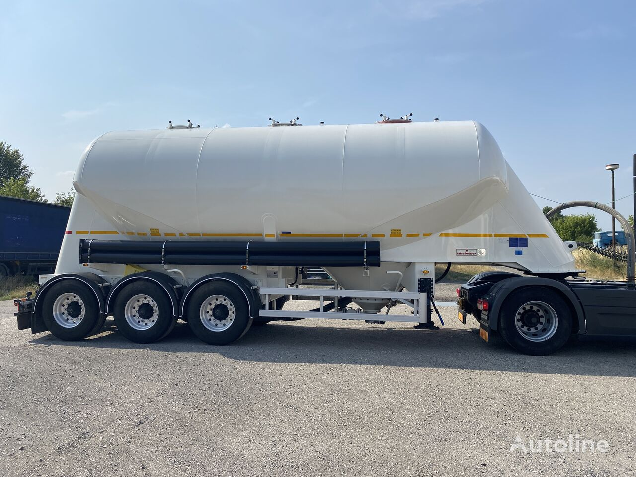 KASSBOHRER 35 cement tank trailer