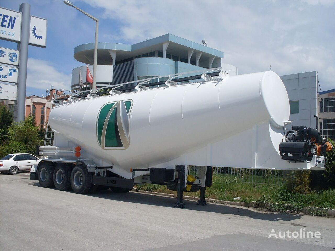 new LIDER بلكر اسمنت مواصفات اوربية 2020 cement tank trailer