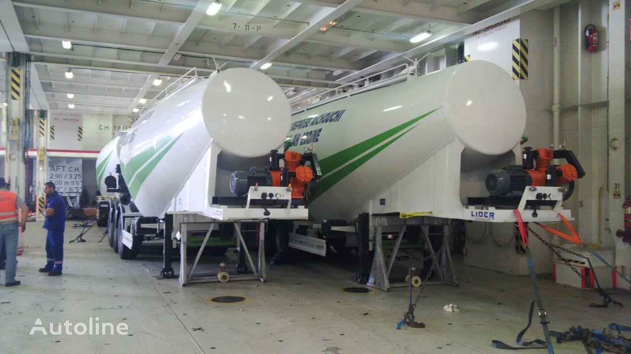 new LIDER 2020 MODELS YEAR NEW (MANUFACTURER COMPANY LIDER TRAILER & TANKE cement tank trailer