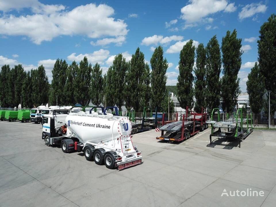 new ALI RIZA USTA V-Type cement tank trailer