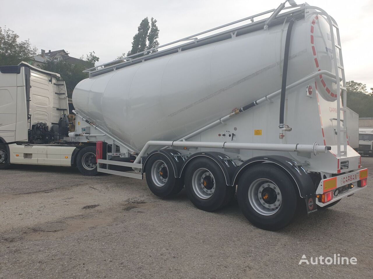 new CARSAN CTS1 cement tank trailer