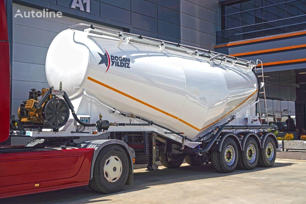 new DOĞAN YILDIZ V-TIPA cement tank trailer