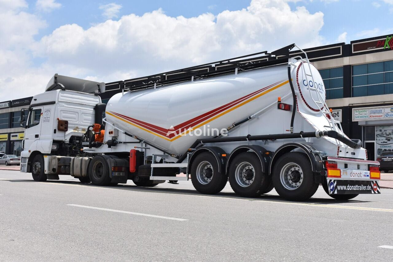 new DONAT V-Type Cement Semitrailer cement tank trailer