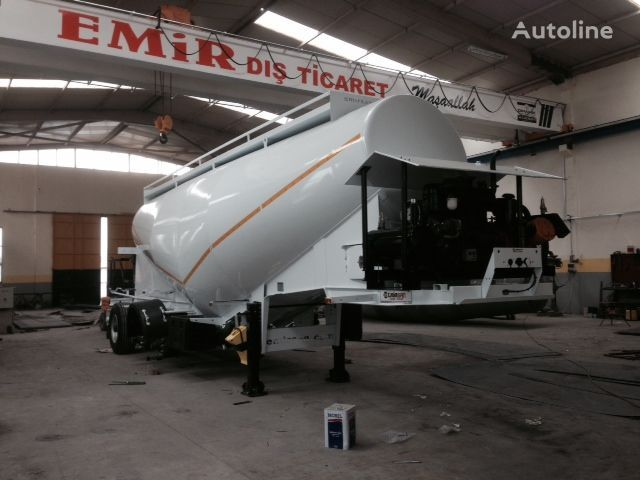 EMIRSAN Direct from Factory Customized Cement Tankers , Brand NEw  cement tank trailer
