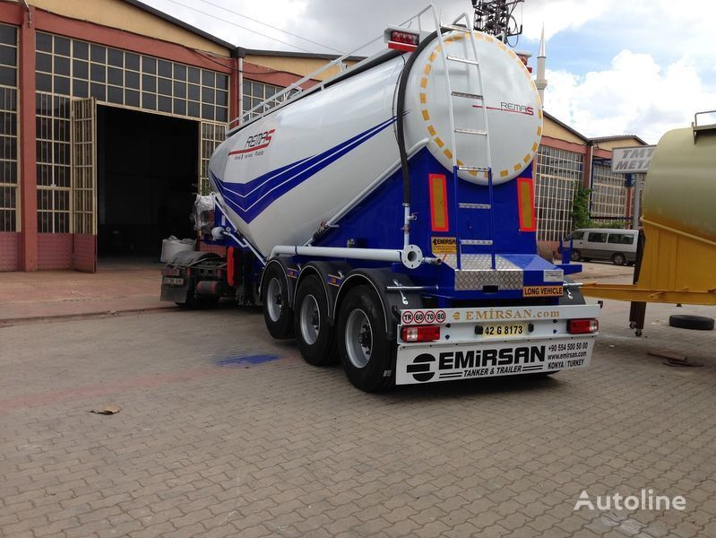EMIRSAN Manufacturer of all kinds of cement tanker at requested specs  cement tank trailer