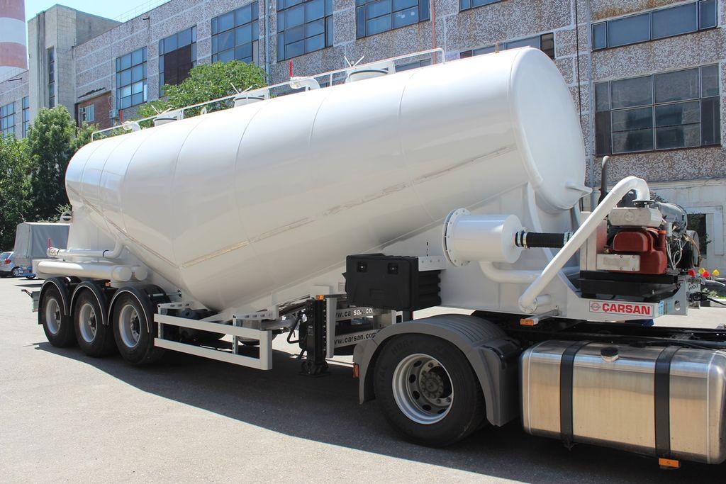 FATIH TRAILER Vakuumnyy cement tank trailer