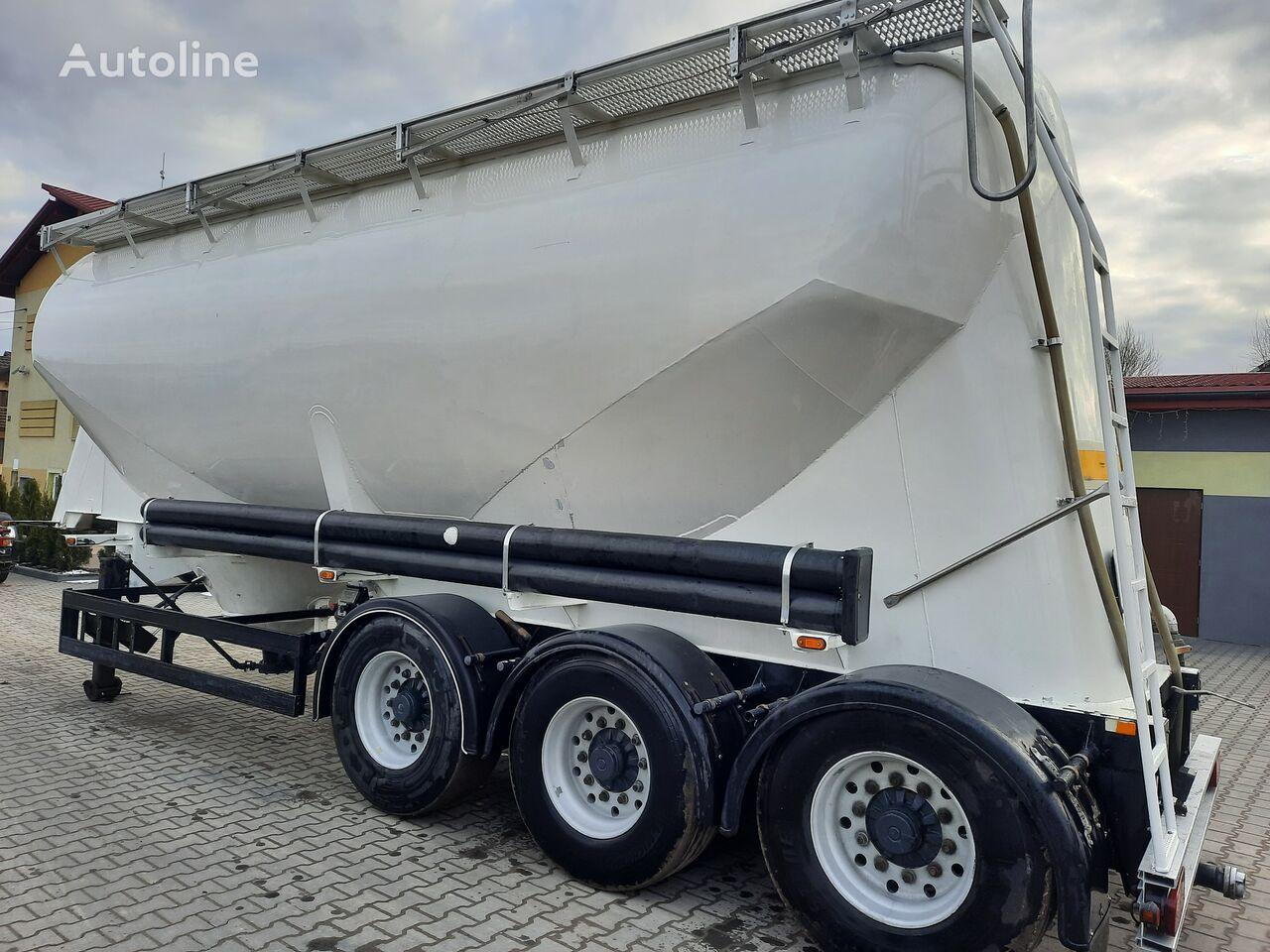 KASSBOHRER SSL 35 cement tank trailer