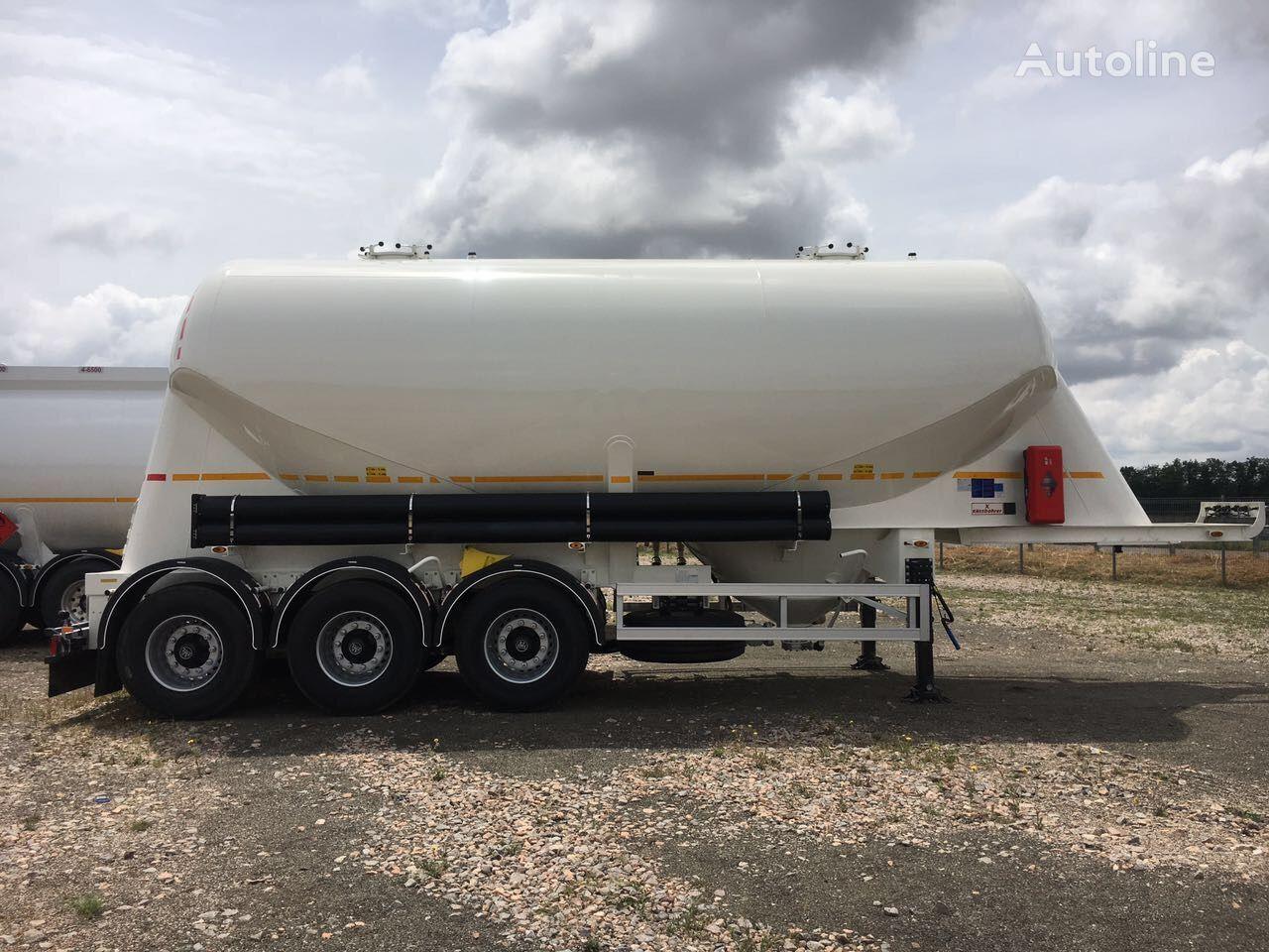 new KASSBOHRER SSL 35 /2-10/24 cement tank trailer