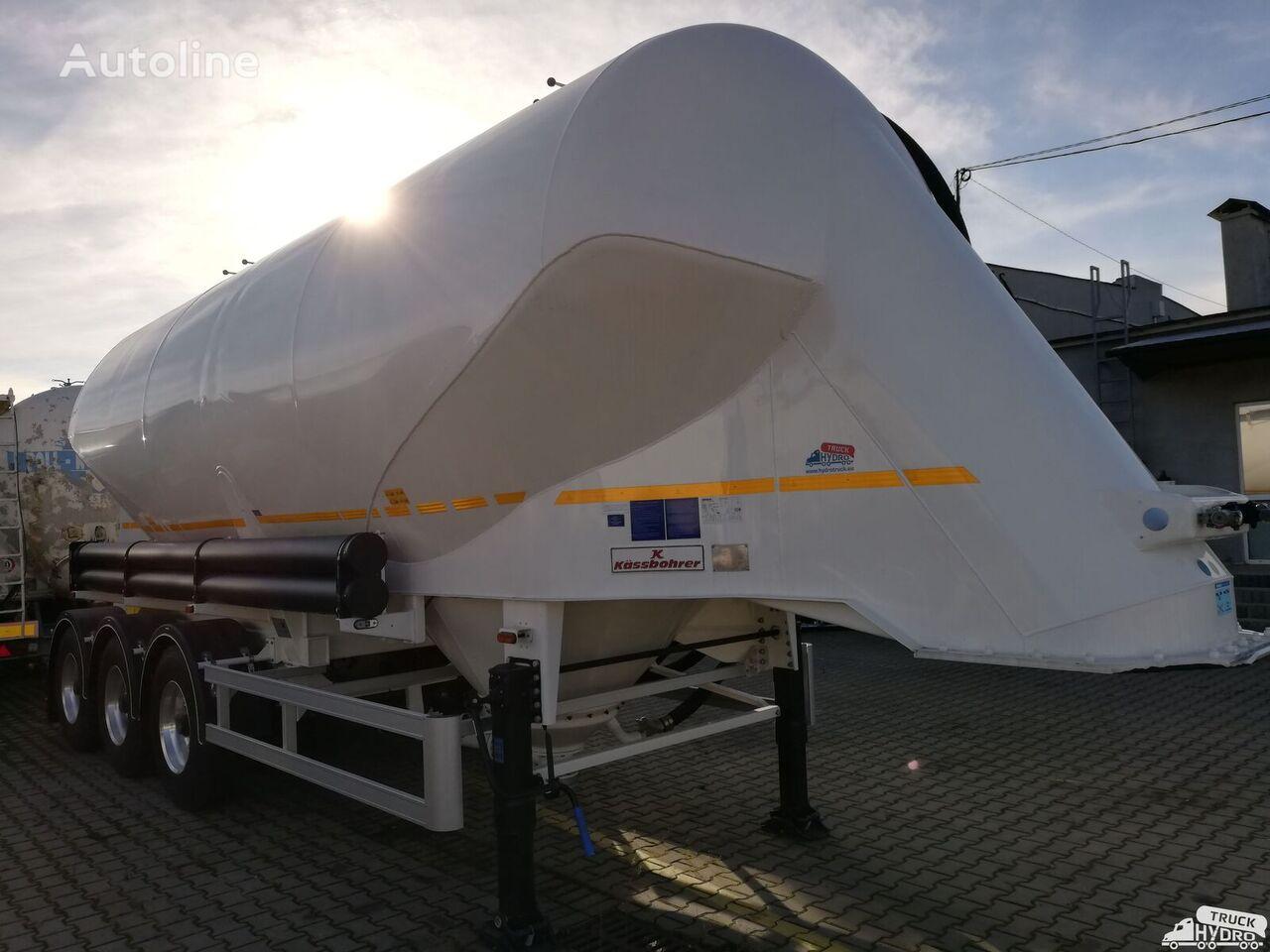 KASSBOHRER SSL 35 - 2 SZTUKI cement tank trailer