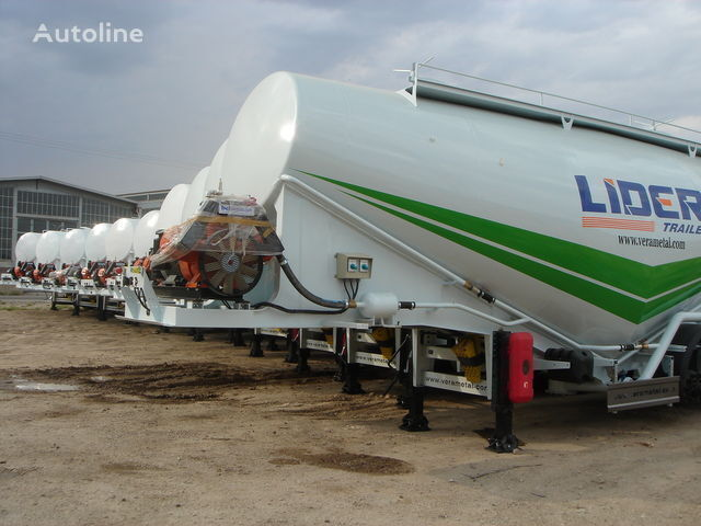 new LIDER NEW ciment remorque 2017 YEAR (MANUFACTURER COMPANY) cement tank trailer