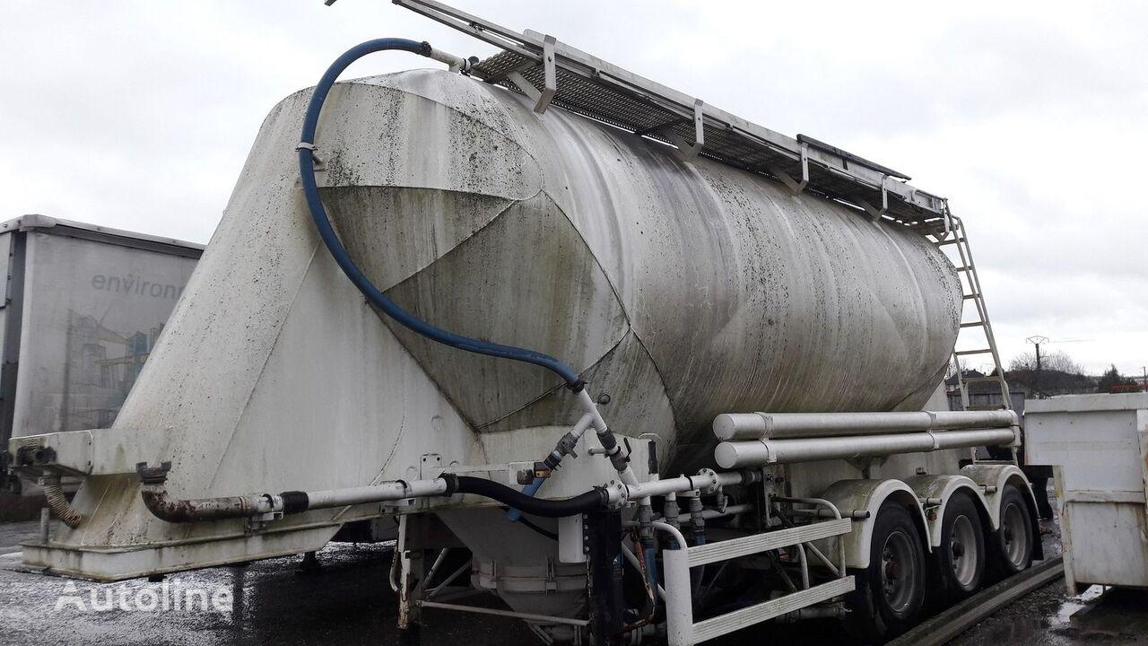 MERCERON PULVE 3 ESSIEUX cement tank trailer