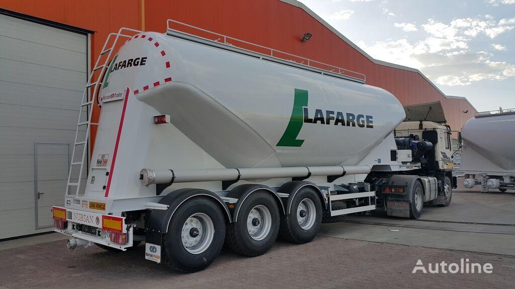 new NURSAN 38M3  TYPEV cement tank trailer