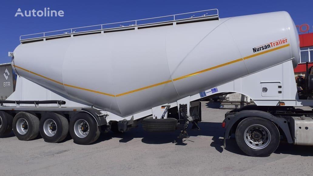 NURSAN 3ANRS cement tank trailer