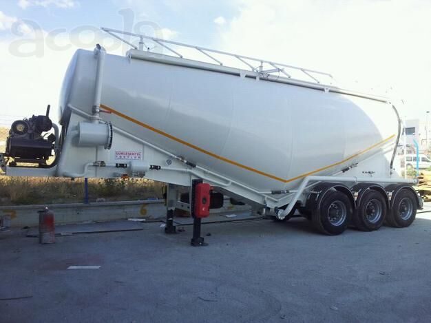 new NURSAN Vakuumnyy cement tank trailer