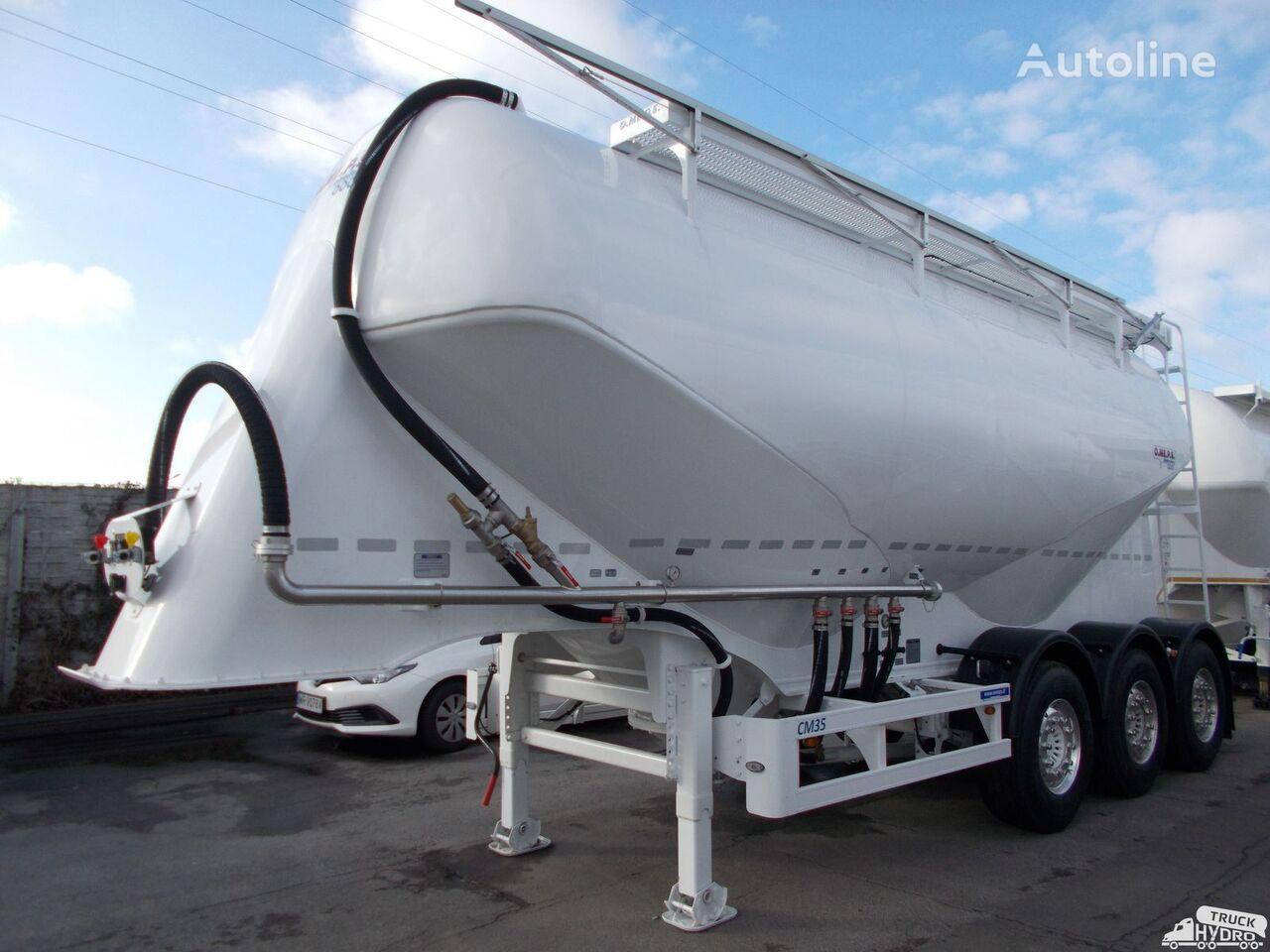 new OMEPS CM 35 NOWA !!! - Szybkie terminy odbioru! rok prod.2019 cement tank trailer